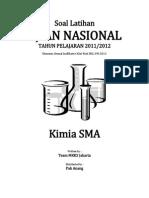 Soal Latihan UN KIMIA SMA 2012 (Final)