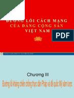 Đường lối DCS Chương III