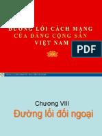Đường lối ĐCS Chương VIII