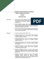 1010-2008 ttg registrasi obat