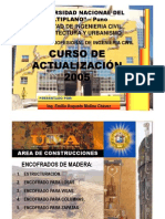 Encofrados de Madera