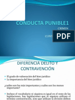Conducta Punible