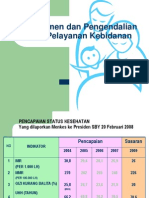 Dmm 122 Slide Manjemen Dan Pengendalian Mutu Pelayanan Kebidanan