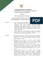 Permendag 53/M-DAG/PER/8/2012 Penyelenggaraan Waralaba