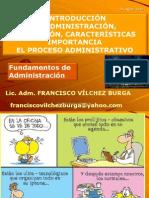 SEMANA 1 Definicion y Caracteristicas de La Administracion Objetivos e Importancia