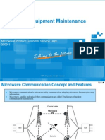 Microwave Equipment Maintenance Guide