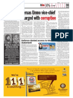 TheSun 2009-01-23 Page04 Beruas Umno Vice-chief Charged With Corruption
