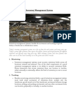 The Features of an InventoryManagement System