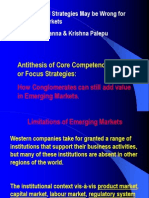 Focused Strategies & Emerging Markets