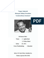 Riwayat Hidup Presiden Soekarno