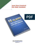 15 Claves Para Construir Un Sitio Web Vendedor