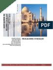 Itinerary India 2012
