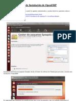 Instalar OpenERP en Ubuntu