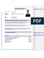 Resume Should Never Be Like This - PARITOSH JHA