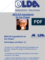 MOLDA Ingredients for Ice-Cream Production