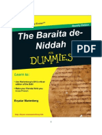 The Baraita de-Niddah for Dummies
