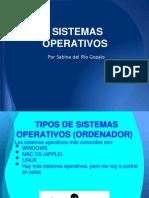 Sistemas Operativos. Sabina del Río.