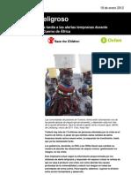 Un retraso peligroso. El precio de la respuesta tardía a las alertas tempranas durante la sequía de 2011 en el Cuerno de África