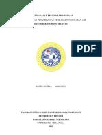 makalah ekonomi lingkungan
