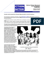 NAMFREL Election Monitor Vol.2 No.27 10312012