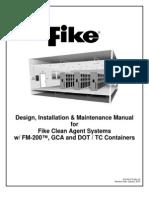 49113426 Design Installation Maintenance Manual FM200 Fike[2]