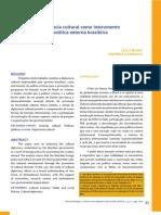 Bijos; Arruda - A diplomacia cultural como instrumento de política externa brasileira