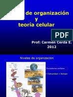 02 Niveles de organización y bacterias