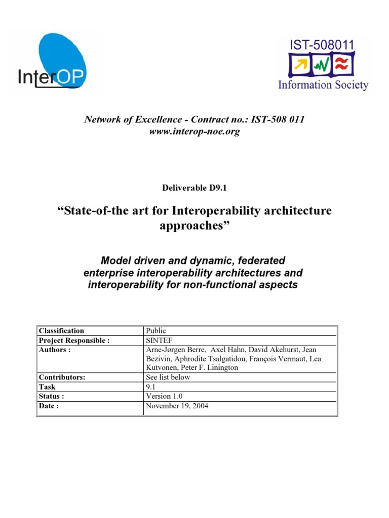 Informe Sobre Arquitecturas De Interoperabilidad Service Oriented Meter Dpm To Measure Ac Voltage Simply Smarter Circuitry Blog Architecture Interoperability