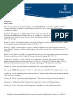 Publications 2004 - 2005