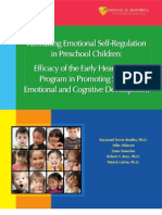 Facilitating Emotional Self Regulation in Preschool Children