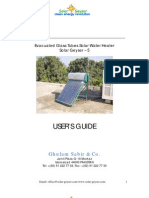 Solar Geyser Installation Manual