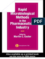 Rapid Microbiological Methods in the Pharmaceutical Industry