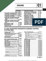 Mazda 323, Ford Laser 2002 Service Manual 01 Engine