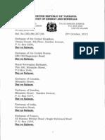 The Tanzania Natural Gas Policy Draft -1