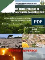Seminario Taller Práctico de SIG may jun 2.012