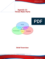 Agenda 21-Three Main Parts