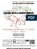 SFAC Craft Market Pack 2012