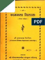 Kama Kala Vilas With Natanandas Chidvalli - Punyananda