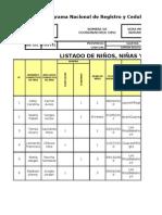 CD DURANObservaciones Cedulacion2012