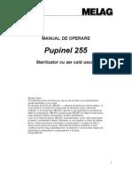 Sterilizer 255 Manual Operare