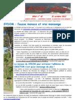 LASSAC officiel billet n° 42 du 31 octobre 2012
