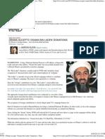 Obama accepts 'Osama bin Laden' donations