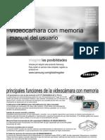 Smanual Camara de Video C MX20 SPA IB 1204