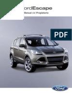 Ford Escape 2013 Manual Del Propietario