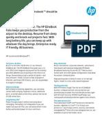 HP EliteBook Folio 9470m DataSheet