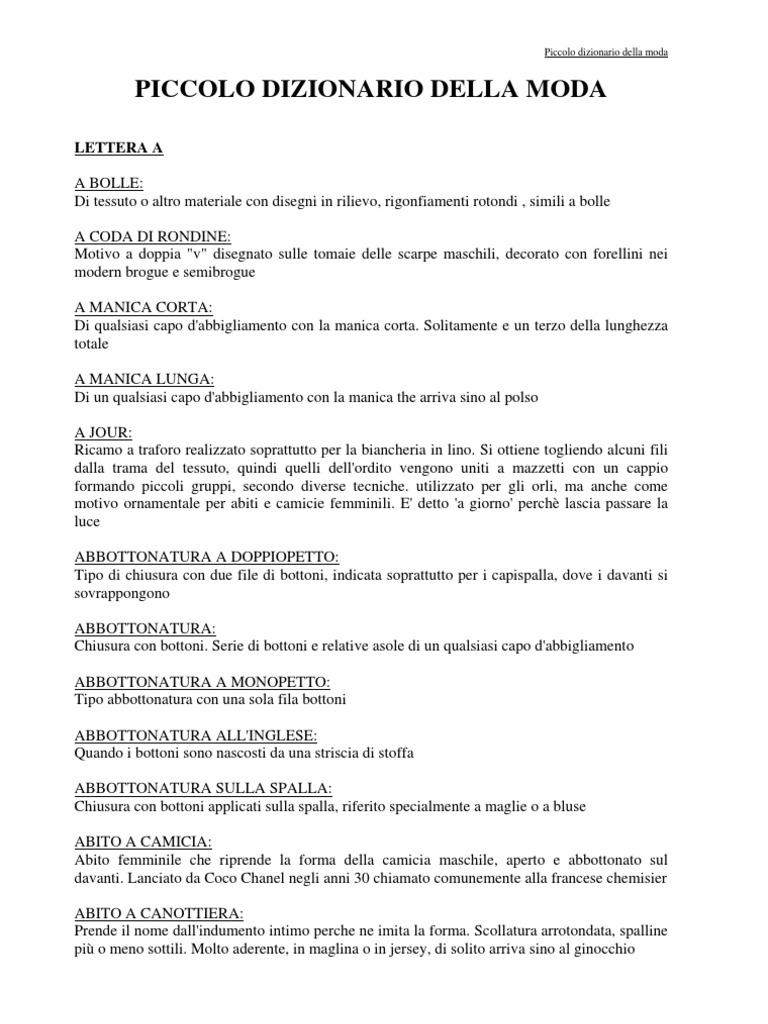 Dizionario Della Moda G fa993d89c56b1