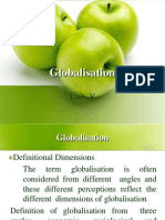 Globalisation(Unit v)