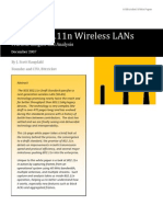 Inside 802.11n Wireless LANs - Practical Insides and Analysis