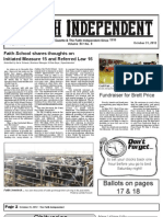 Faith Independent, October 31, 2012