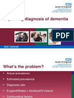 Improving diagnosis of dementia